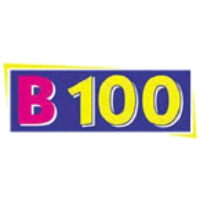 Logo of radio station KBEA B100