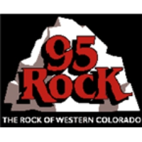 Logo of radio station KKNN Rock 95