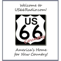 Logo of radio station HBN US 66 Radio