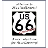 Logo of radio station HBN US 66 Radio