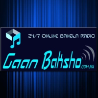 Logo of radio station Gaan Baksho - 24/7 Bangla Radio