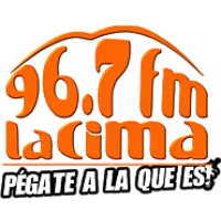 Logo of radio station La Cima 96.7 FM Carrizal