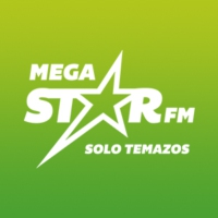 Logo of radio station MegaStarFM