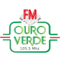 Logo of radio station Radio Ouro Verde