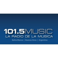 Logo of radio station 101.5 Radio Music