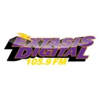 Logo of radio station XHQJ Éxtasis Digital 105.9 FM