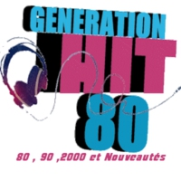Logo of radio station Génération Hit 80