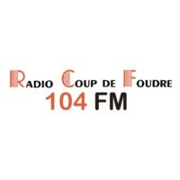 Logo of radio station Radio Coup de Foudre 104 FM