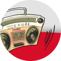 Logo de la radio PolskaStacja - Polski Hip Hop