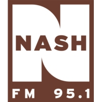 Logo of radio station KATC 95.1 Nash FM