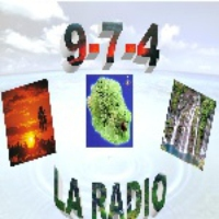 Logo of radio station 9-7-4 La Radio