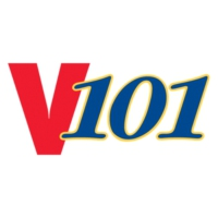 Logo of radio station KJMS V101