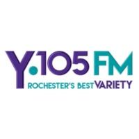 Logo of radio station KYBA Y105FM