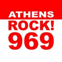 Logo of radio station 96.9 Rock FM