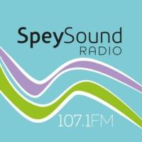 Logo of radio station SpeySound Radio