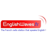 Logo of radio station English Waves