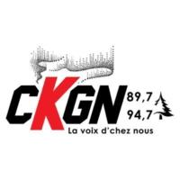 Logo of radio station CKGN 89.7 & 94.7
