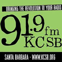 Logo of radio station KCSB