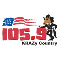 Logo of radio station KRAZ 105.9