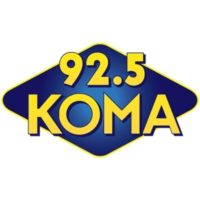 Logo of radio station 92.5 KOMA