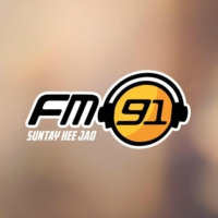 Logo of radio station FM 91