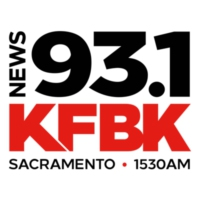 Logo of radio station KFBK NewsRadio