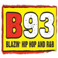 Logo of radio station KZBT B93 FM