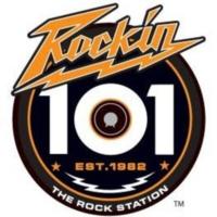 Logo of radio station WHMH Rockin' 101