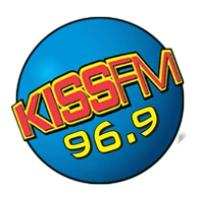 Logo of radio station KXSS Kiss FM 96.9 FM