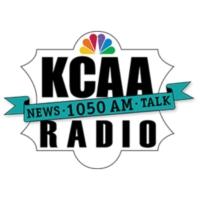 Logo of radio station KCAA 1050 AM