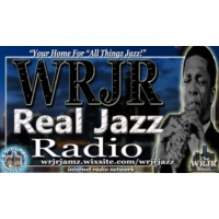 Logo of radio station WRJR Real Jazz Radio