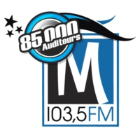 Logo of radio station CJLM 103.5
