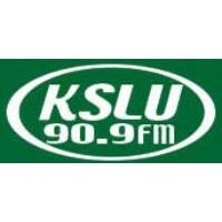 Logo of radio station KSLU