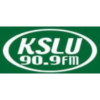 Logo of radio station KSLU