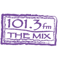 Logo of radio station KATY 101.3 The Mix