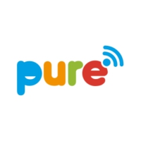 Logo of radio station Pure Lazy