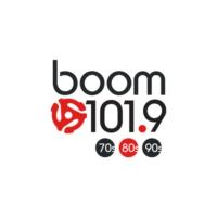 Logo of radio station Boom 101.9