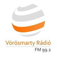 Logo of radio station Vorosmarty Radio 99.2