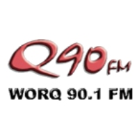 Logo of radio station WORQ Q90