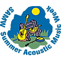 Logo de la radio WUMB Summer Acoustic Music Week