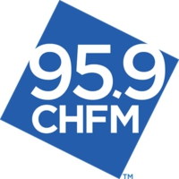 Logo of radio station 95.9 CHFM