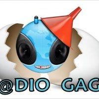 Logo of radio station R@dio GaGa