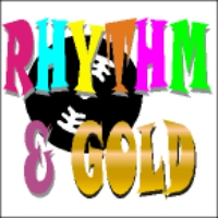 Logo of radio station Rhythm and Gold