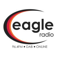 Logo of radio station 96.4 Eagle