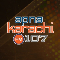 Logo of radio station Apna Karachi