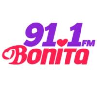 Logo of radio station XHECM  Bonita 91.1 FM