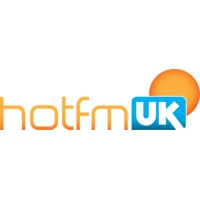 Logo of radio station Hot FM UK