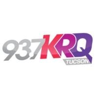 Logo of radio station 93.7 KRQ