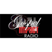 Logo of radio station Gospel Impact Radio