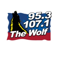 Logo de la radio WXLF 95.3 & 107.1 The Wolf